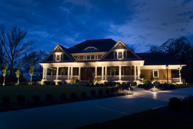 South Shore Landscape Lighting Inviting Lights